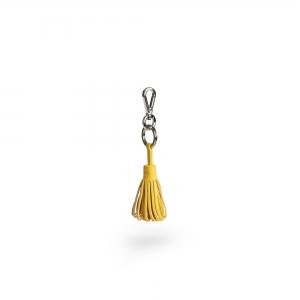 KEY RING - Amber Yellow