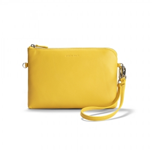 POUCH - Amber Yellow