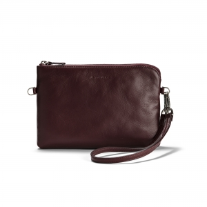 POUCH - Burgundy Red