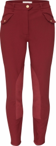 CAITLYN BURGUNDY RED FRONT