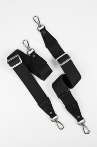 black silver backpack