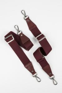 burgundy silver for backpack