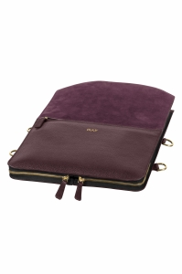Bo Bardi Plum laptopbag