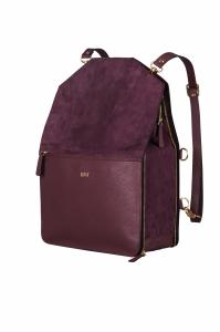 Bo Bardi Plum rucksack