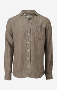 Linus Melange Linnen Shirt
