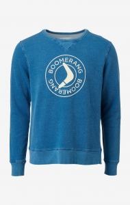 Boomy Indigo Logo Sweatshirt