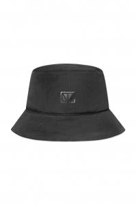 Puffer Bucket Hat Black