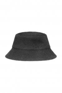 Wool Hat Black Melange