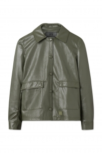 Sissel Faux Leather Olive