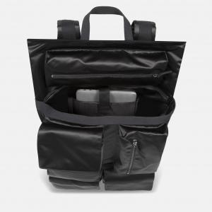 Poster Backpack satin black inside