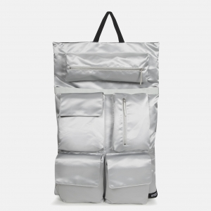 Poster Backpack satin silver