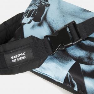 Poster waist bag cotton black detail