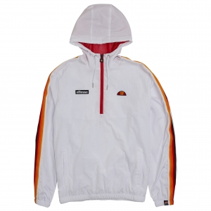 ELLESSE HERITAGE AW19Q4 MENS SHD08100 OME TRACKTOP WHITE FLATLAY 1