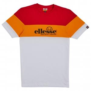 ELLESSE HERITAGE AW19Q4 MENS SHD08106 NOSSA TSHIRT WHITE FLATLAY 1