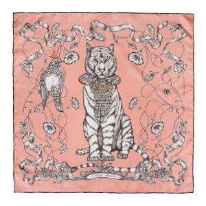 Tiger Mini Silk Scarf