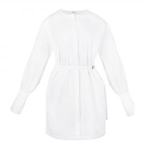 Cap Ferret Dress White Dove