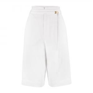 Florence Knee Pants White Dove