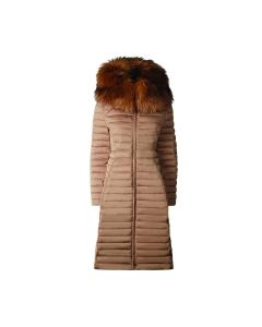 Womens Refined Down Coat beige
