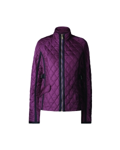 Womens Refined Quilted Trench Jacket