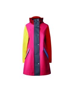 Womens original Colour block Rubberised hunting coat