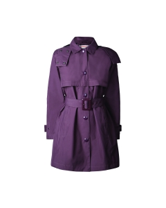 Womens original refined Quilted trench coat