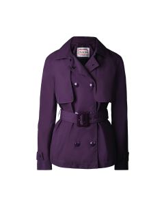 Womens original refined mid length trench coat