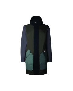 Mens original colour block cotton hunting coat