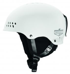 K2SKI F17 Helmet Emphasis White