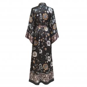 1 Kueen Kimono Forgotten Flowers Back