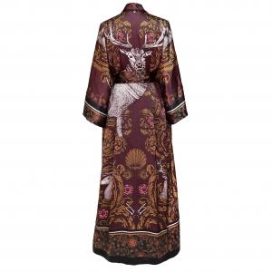 1 Kueen Kimono White Stag Back
