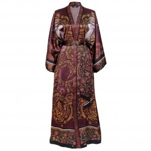 1 Kueen Kimono White Stag Front