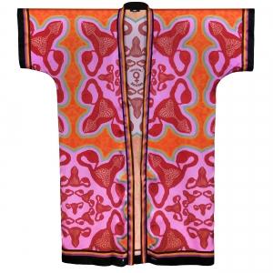 Kimono I am bloody awesome Pink open