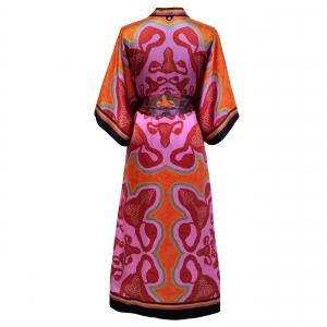 Kimono I am bloody awesome Pink back
