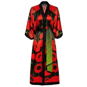 Poppies Kimono