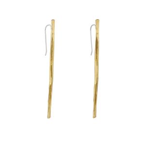 Raw sticks earrings
