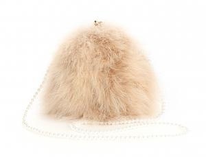 Beige Pearl Bag