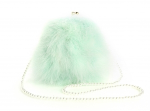 Mint Green Pearl Bag