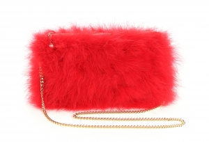 RedPoppy Feather Bag