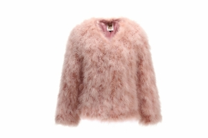 Feather Jacket Short