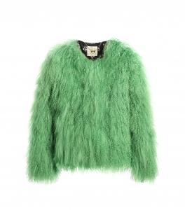 Apple green Mongolian Jacket
