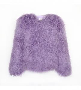 Lavender Purple Mongolian Jacket