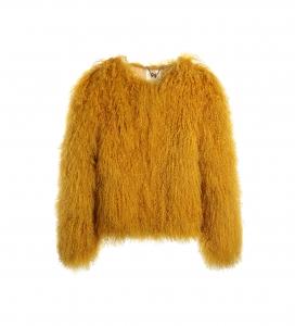 Mango Yellow Mongolian Jacket