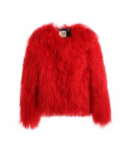 True Love Red Mongolian Jacket