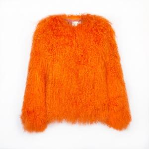 PelloBello Mongolian bubble orange jacket 2599sek 1999dkk