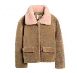 Shearling Patch jacket