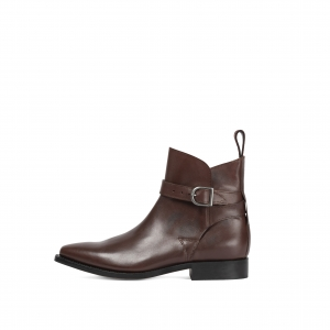 Primeboots Ascot Cow Leather Chocolate