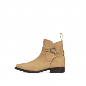 Primeboots Ascot Cow Suede Sand
