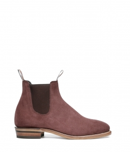 Adelaide Boot Suede Brandy