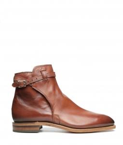 Stockman Buckle Boot Mahogany Burnished