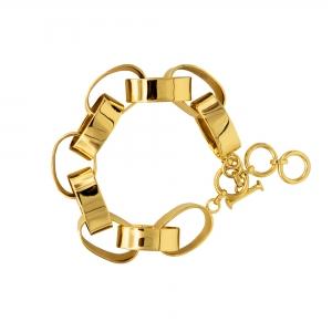 Heavy chain bullet bracelet